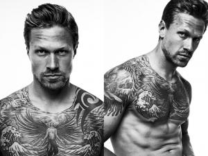 Male Model Tattoo