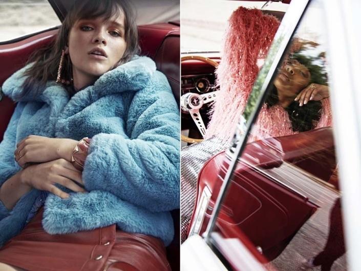 Car Fashion Editorial