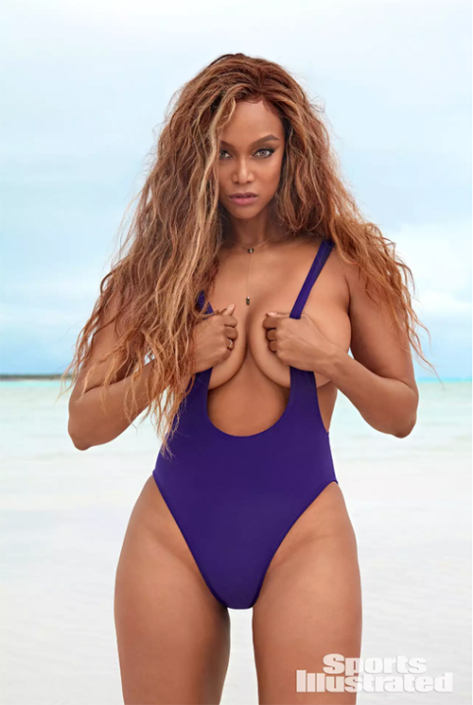 Tyra Banks Sports Illustrated Swimsuit